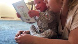 Bild som illustrerar berättelsen om Nethertons syndrom, mamman som skrivit berättelsen och hennes dotter