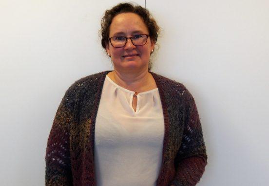 Bild på Karin Högvall, nyanställd medarbetare, februari 2018