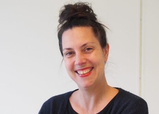Bild på ny projektmedarbetare, Agnes Pörge, oktober 2018