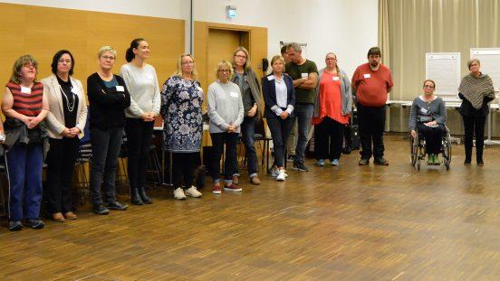 Sällsynta diagnosers Höstmöte, 20-21 oktober 2018, gruppbild på några av mötesdeltagarna