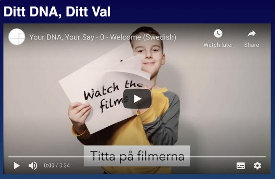 Bild, Ditt DNA – Ditt val