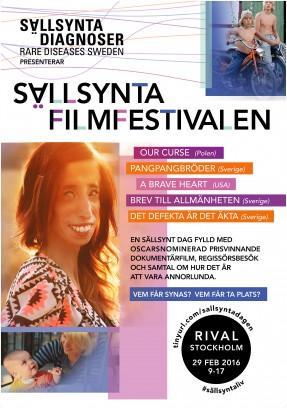 Sällsynta filmfestivalen affisch