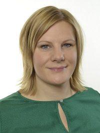 Bild på Jenny Petersson (M)- riksdagsledamot, november 2016