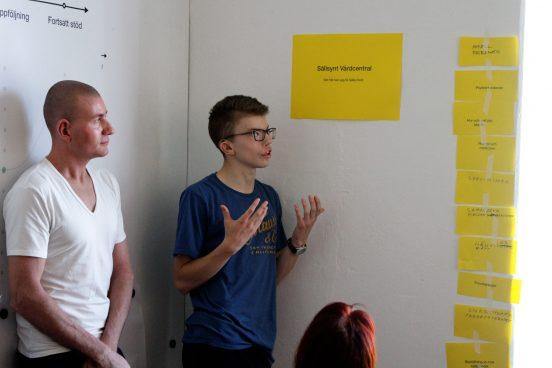 Deltagare i Sällsynta diagnosers Övergångsprojekt