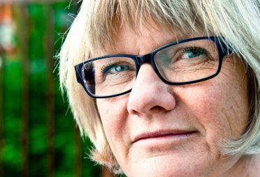 Bild på Riksförbundet Sällsynta diagnosers ordförande Elisabeth Wallenius som den 8 mars 2018 valdes till ny ordförande i Funktionsrätt Sverige