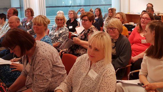 Deltagare vid Sällsynta diagnosers årsmöte 27 april 2019
