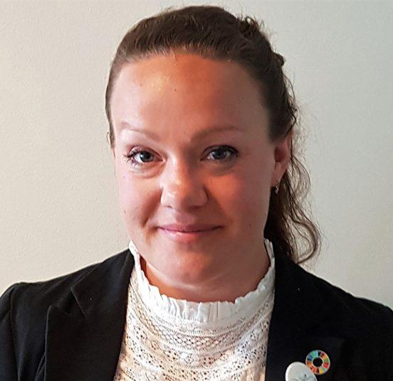 Sällsynta diagnosers förbundsordförande Maria Montefusco, april 2019