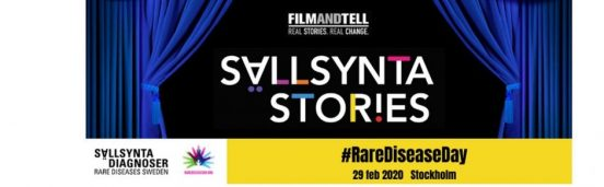 Banner för Sällsynta Stories 29 februari 2020