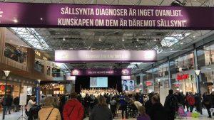 Sångkör, Sällsynta dagen i köpcentrumet Nordstan, Göteborg