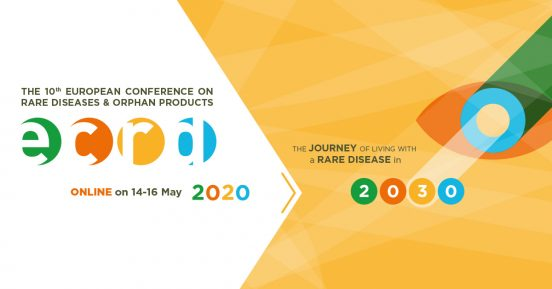 ECRD 2020 logo, DIGITAL konferens