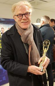 Bild på läkaren Anders Fasth, mottagare av priset Above and beyond, 29 feb. 2020