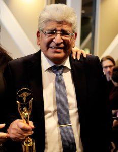 Läkaren Karel Duchen, inspirationen till priset Above & Beyond